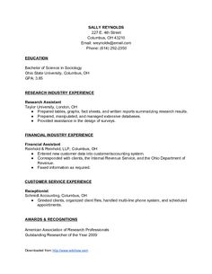 how to make good resume for it job examples of good resumes that get jobs financial