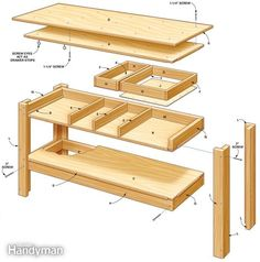 simple king size platform bed plans