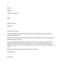 Dont Be A Jerk How To Write A Classy Resignation Letter 1000 Ideas About Resignation Letter On Pinterest