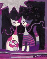 1000 ides sur le thme Peintures De Chat sur Pinterest ...