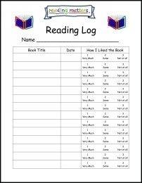 Reading Log Monthly Calendar Reading Log Worksheets Enchantedlearning Kindergartenbooklog Kindergarten Reading Logs