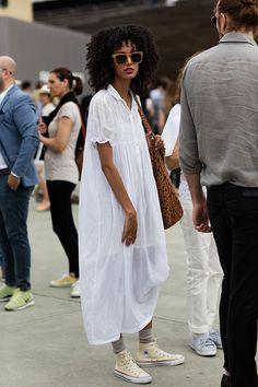dress & chucks. NYC.