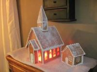 1000+ images about Gingerbread Churches on Pinterest