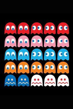 Pacman Iphone X Wallpaper Free Printable Retro Pac Man Cupcake Toppers Pac Man