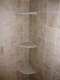 Tile Shower Shelves | Bathroom remodel | Pinterest | Diy ...