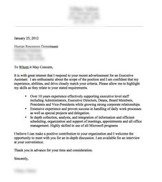 Cover Letter Examples The Muse | Sample Resumes & Sample Cover Letters