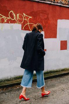 red block heels + fr