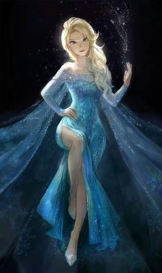 sexy elsa from frozen
