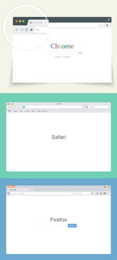 Vector Browser Mocku