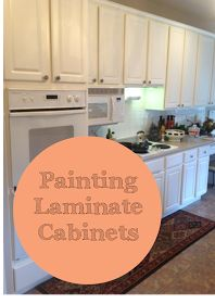1000 Ideas About Painting Laminate Cabinets On Pinterest