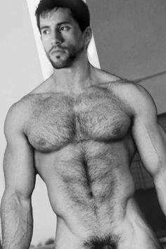 extremely hairy men