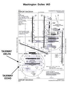 iad taxiway diagram