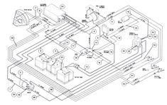 1984 club car wiring diagram switch