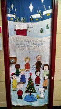 Charlie brown christmas, Charlie brown and Christmas door ...
