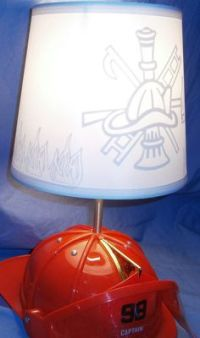 1950's ADT Fire alarm box refurbished and made into a lamp ...