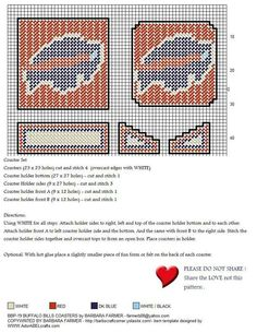 1000 Images About Nfl Plastic Canvas Patterns On