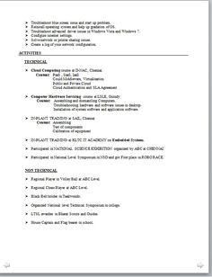 Resume Builder Uark