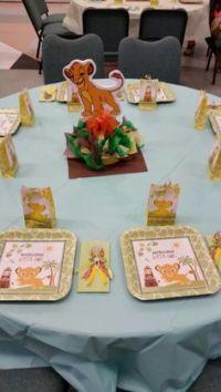 Baby Lion King inspired Centerpiece, Simba, Pumba, Nala ...