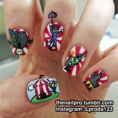 Polishallthethings Circus Nail Nails Nailart Don39t