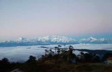 Sandakfu is the highest peak located in Darjeeling district in the eastern part of India at an altitude of 3,636 m