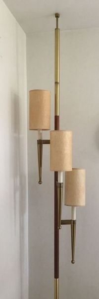 Pole lamps, Raymond loewy and The stand on Pinterest