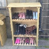 1000+ ideas about Outdoor Shoe Storage on Pinterest | Shoe ...