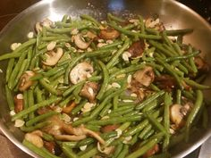 Green Bean Almandine