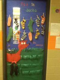 Lorax Door Decor! Dr. Seuss week!   future teacher  ...