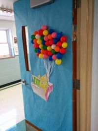 Classroom Door Decor on Pinterest | disney Pixar, Monsters ...
