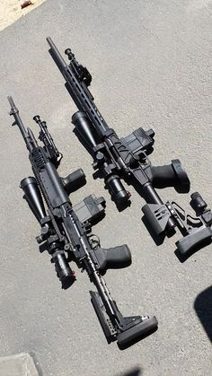 precision rifles...: