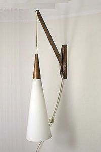 Lamp light, Wall lamps and Mid-century modern on Pinterest