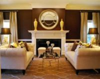 1000+ images about CHOCOLATE, CREAM & GOLD Decor on ...