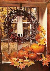 1000+ images about Fall Window Decorations on Pinterest ...