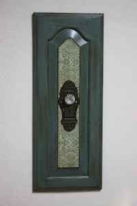 Old Cabinet doors | Craft Ideas | Pinterest | Old Cabinet ...
