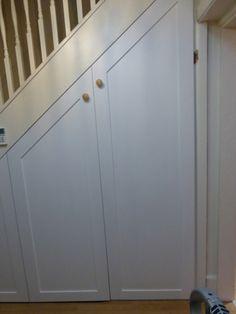Discrete Under Stair Storage Cupboards Reno Pinterest