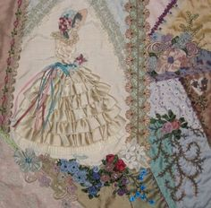 Entry8 1000 Images About Crazy Quilts Contemporary On Pinterest