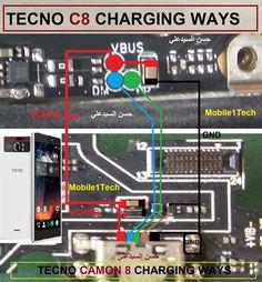 diagram of tecno k7