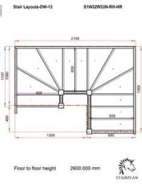 Winder Stair Drawings | ... made to measure Staircase ...