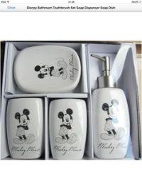 Disney Mickey Mouse Bathroom Trash Can | Parenting and ...