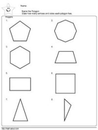 Convex and Concave Shape Worksheets   Identify Concave or ...