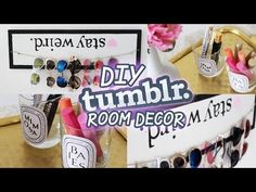 Make your space on pinterest tumblr room girly and vanities