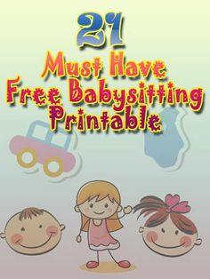 babysitting wikihow