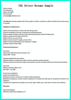 sample resume for ttc driver job professional resumes example online