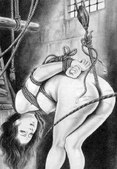 traditional japanese bondage art