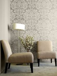 1000+ ideas about Damask Stencil on Pinterest   Stenciling ...