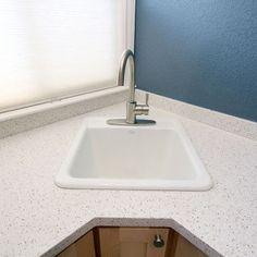 Corner Laundry Tub Idea For Wickline Pinterest