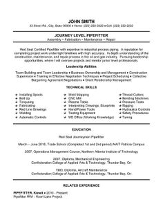 sample resume union electrician resume templates and samples on pinterest resume templates resume and