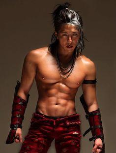 asian male muscle