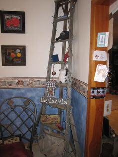 1000 Images About Old Wooden Ladder Decorations On