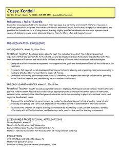 assistant educator resume samples eager world free sample resume cover cover letter sample resume for preschool